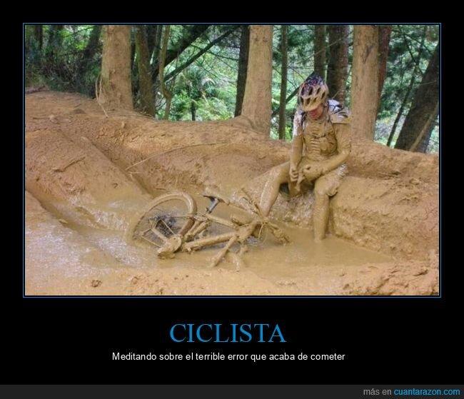 barro,ciclista,fails