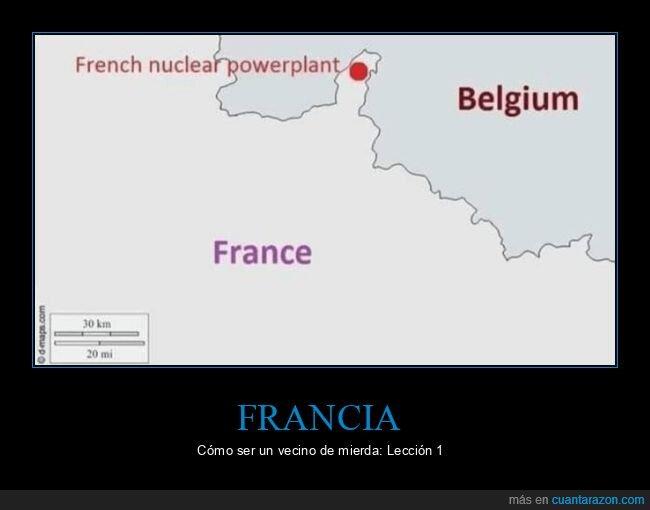 bélgica,central nuclear,francia