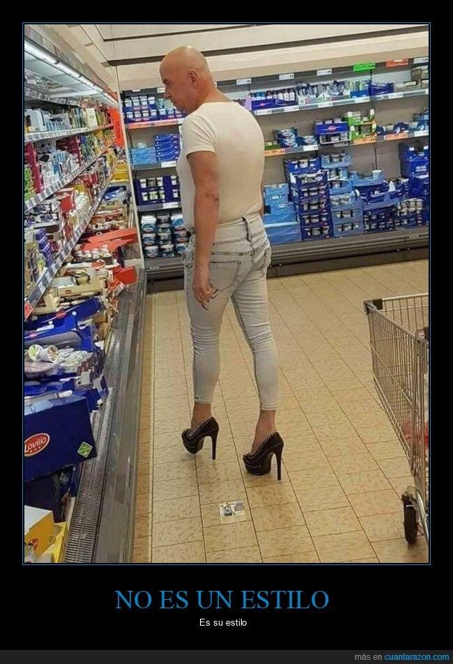 supermercado,tacones,wtf