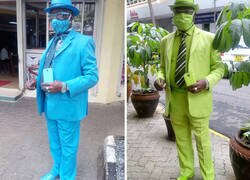 Enlace a Este es James Maina Mwangi, autoproclamado hombre con más estilo de África, si no del mundo