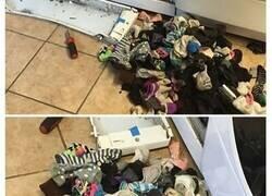 Enlace a Veces en las que lavar ropa resultó peor de lo esperado