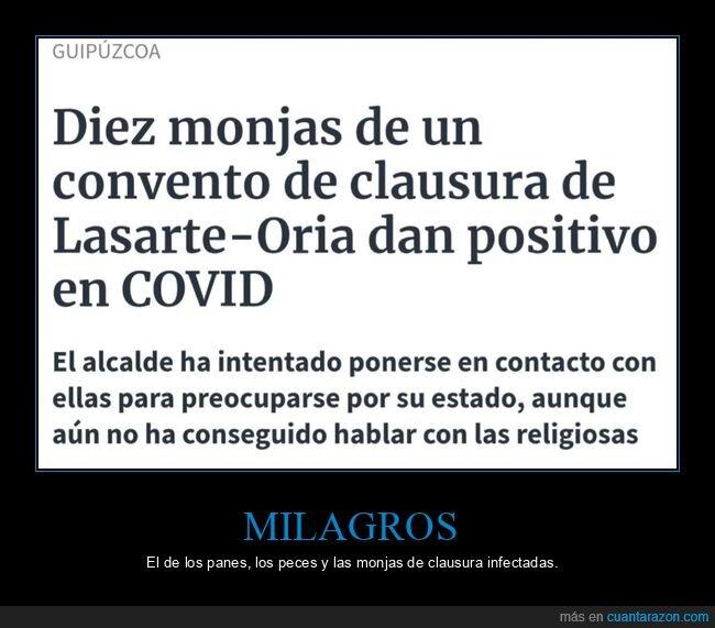 clausura,coronavirus,monjas