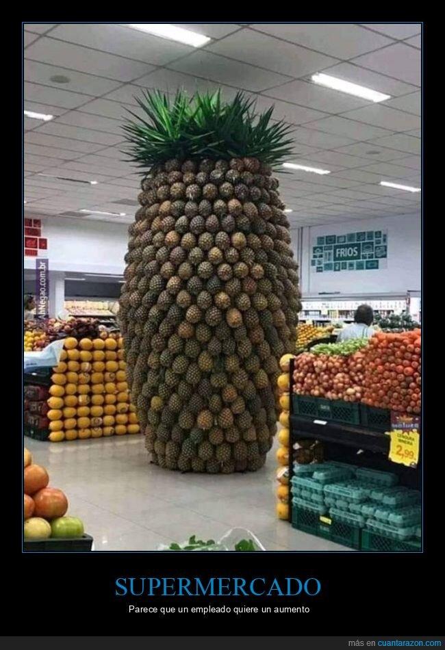 piñas,supermercado,wtf
