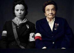 Enlace a Veteranos de la II Guerra Mundial con su yo del pasado