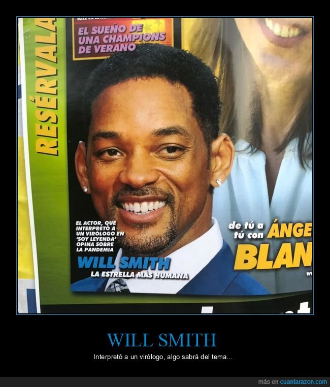 coronavirus,interpretar,virólogo,will smith