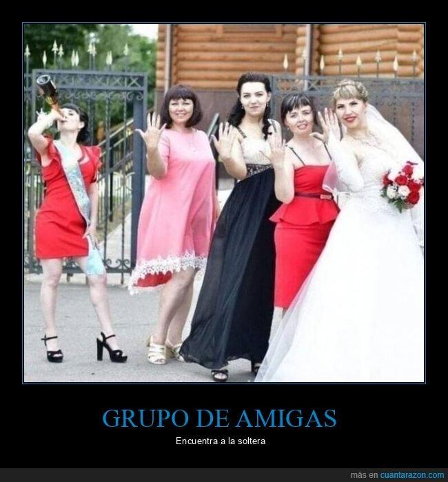 amigas,boda,soltera