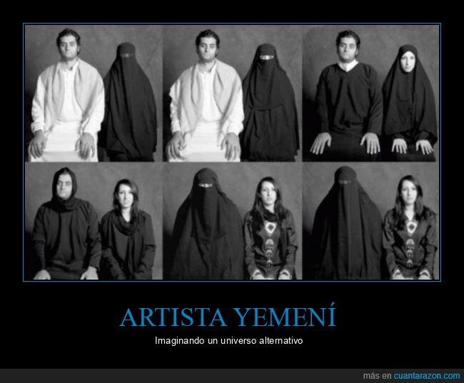 burka,hombres,mujeres,yemen