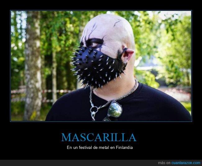 coronavirus,festival,finlandia,mascarilla,metal