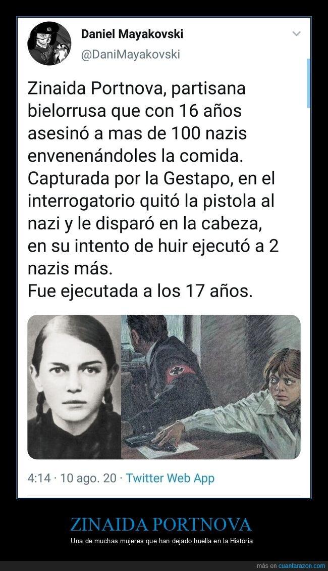 matar,nazis,zinaida portnova