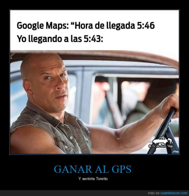 google maps,hora,llegada,toretto