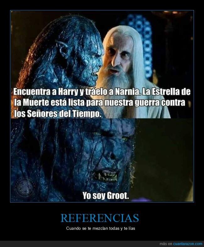 doctor who,el señor de los anillos,harry potter,los guardianes de la galaxia,narnia,star wars