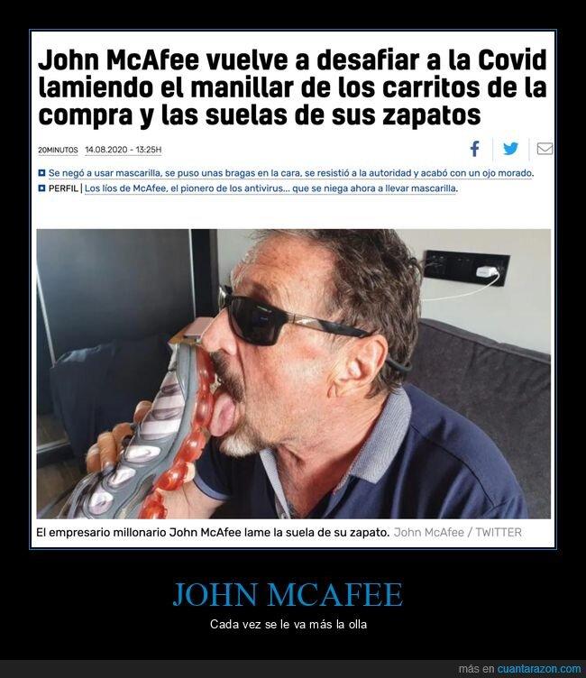 carrito,coronavirus,john mcafee,wtf