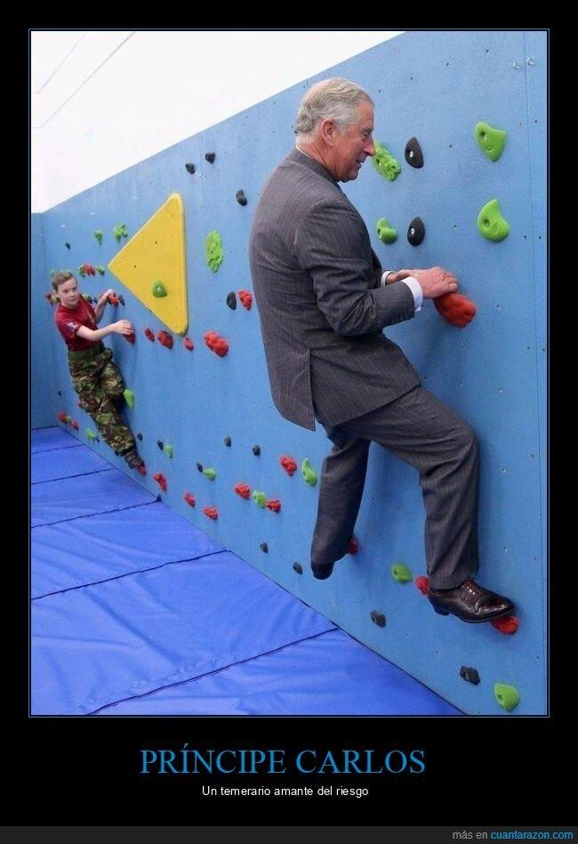 escalada,príncipe carlos