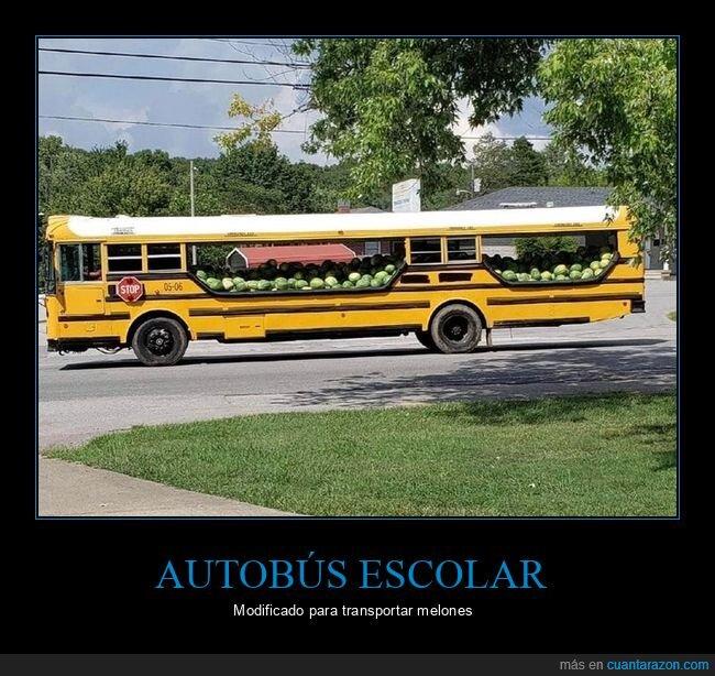 autobús,melones,modificado