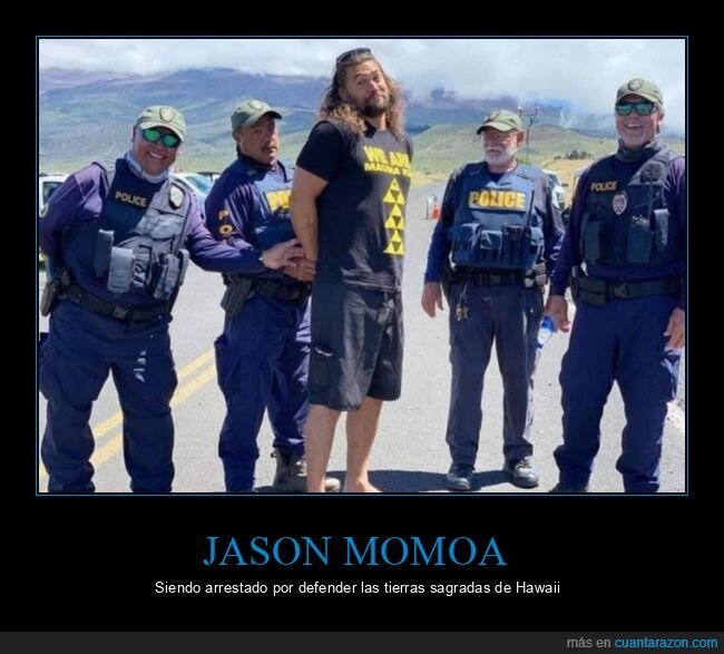 arresto,hawaii,jason momoa,policía