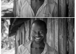 Enlace a Fotos de gente antes y después de que les pidieran sonreír