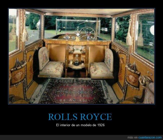 coche,interior,rolls royce