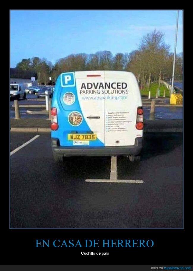 fails,furgoneta,parking