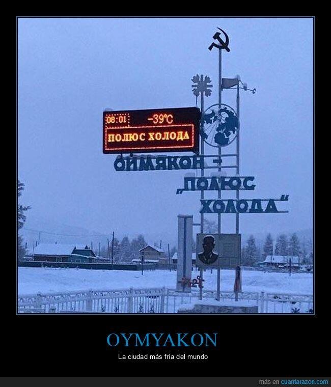 frío,oymyakon,temperatura