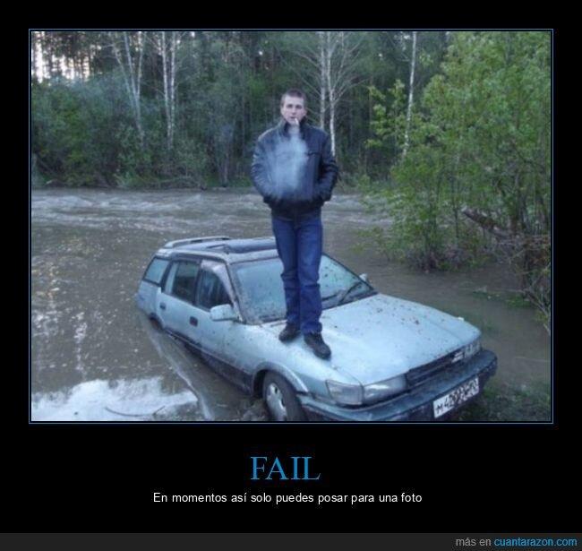agua,coche,hundido,wtf