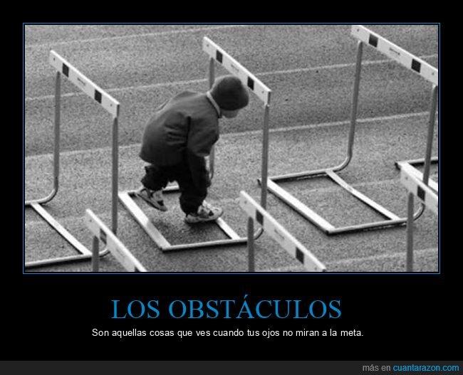 meta,obstáculos,ojos