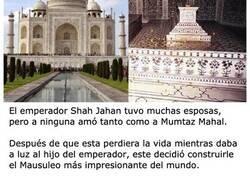 Enlace a Secretos que esconden las paredes del Taj Mahal
