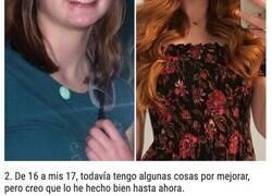 Enlace a Personas que prueban que la pubertad puede hacer maravillas