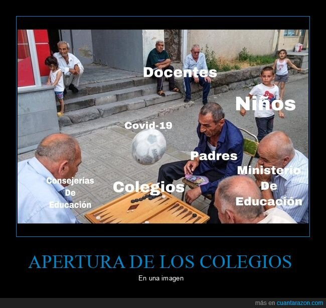 colegios,coronavirus,niños
