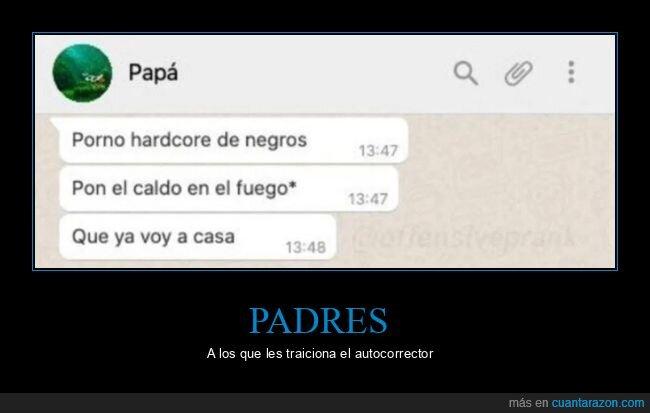 fails,padre,whatsapp