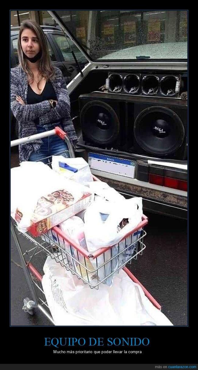 altavoces,coche,compra,equipo de sonido