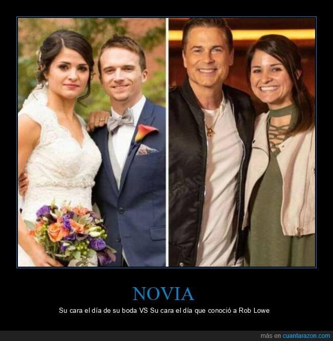boda,cara,novia,rob lowe