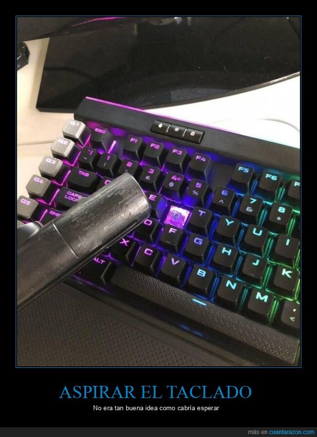 espiradora,fails,teclado