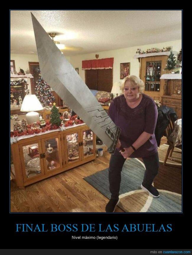 abuela,espada,final boss,wtf