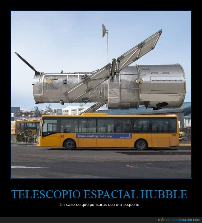 hubble,tamaño,telescopio