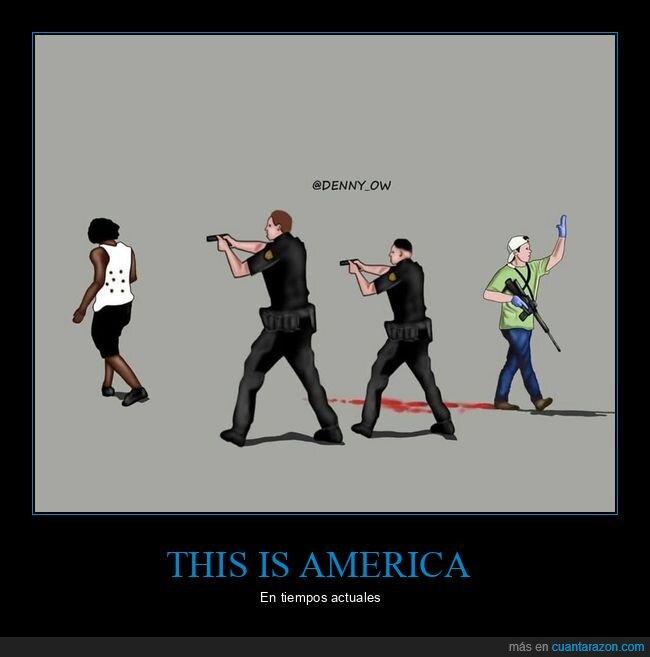 armas,eeuu,policía,racismo