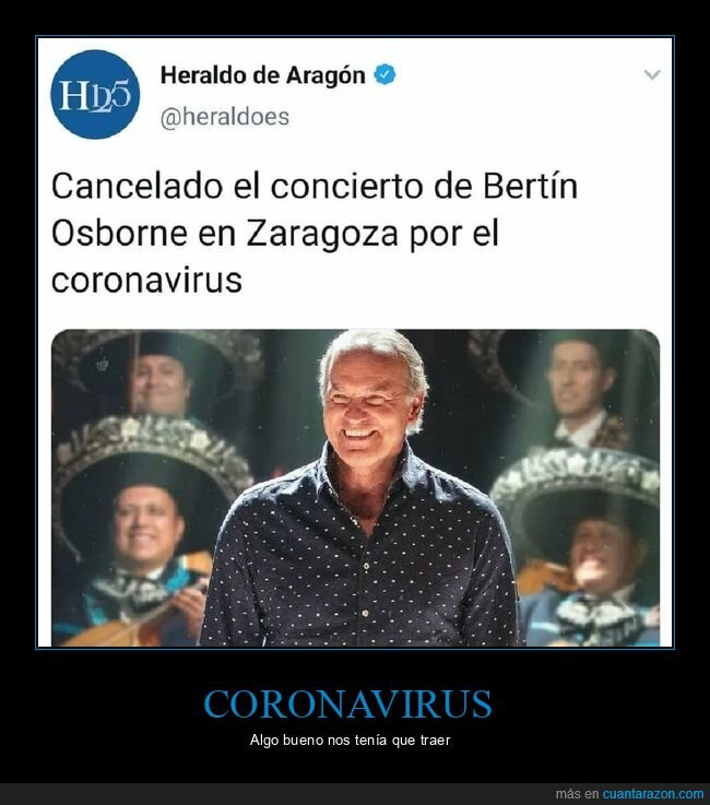 bertín osborne,cancelado,concierto,coronavirus,zaragoza