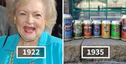 Enlace a Betty White es más vieja que estos inventos, y sirve para poner su edad en perspectiva
