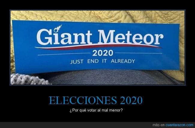elecciones,meteorito,votar