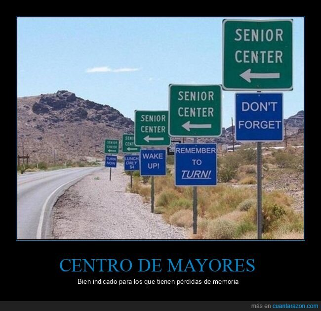carteles,centro de mayores