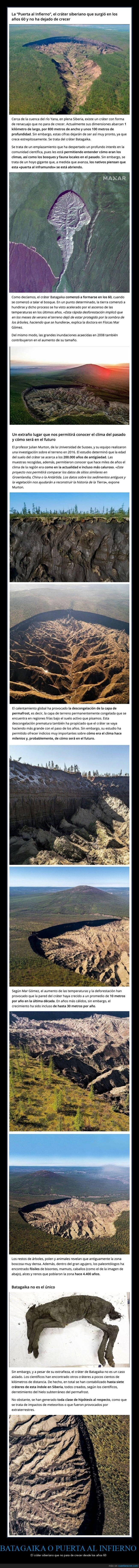 batagaika,cráter,crecer,curiosidades,siberia