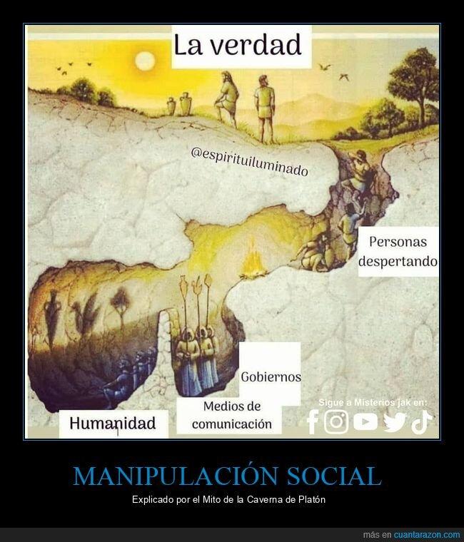 manipulación,medios de comunicación,mito de la caverna,platón,sociedad