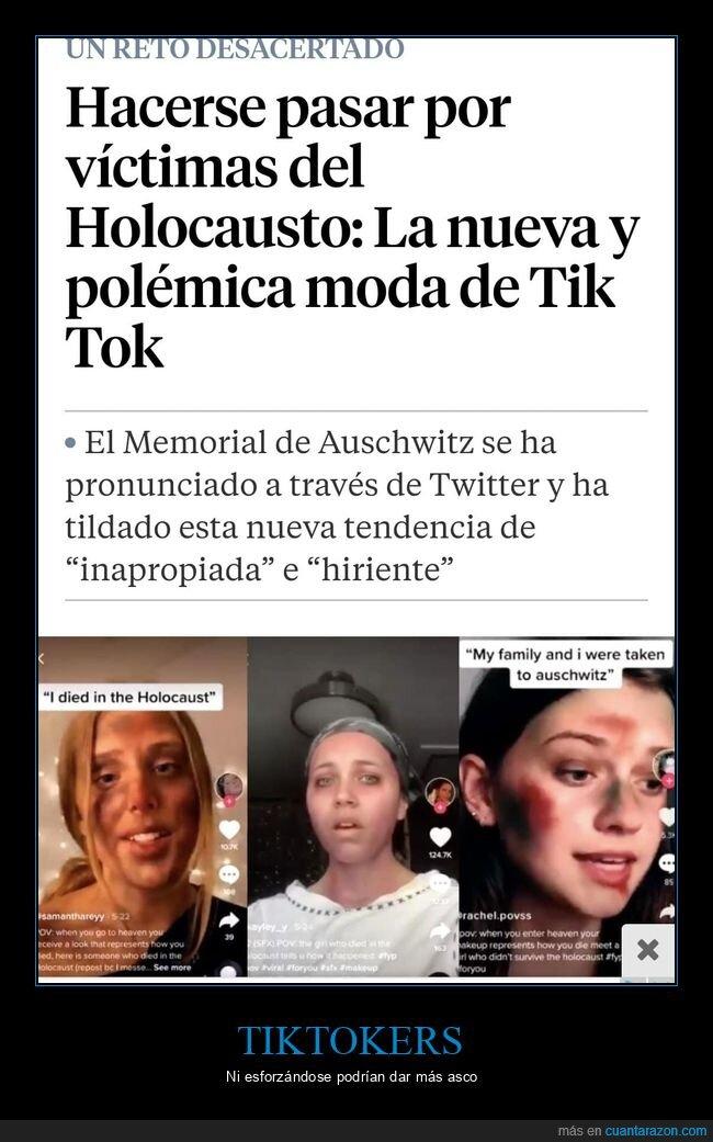 holocausto,judíos,tik tok,wtf