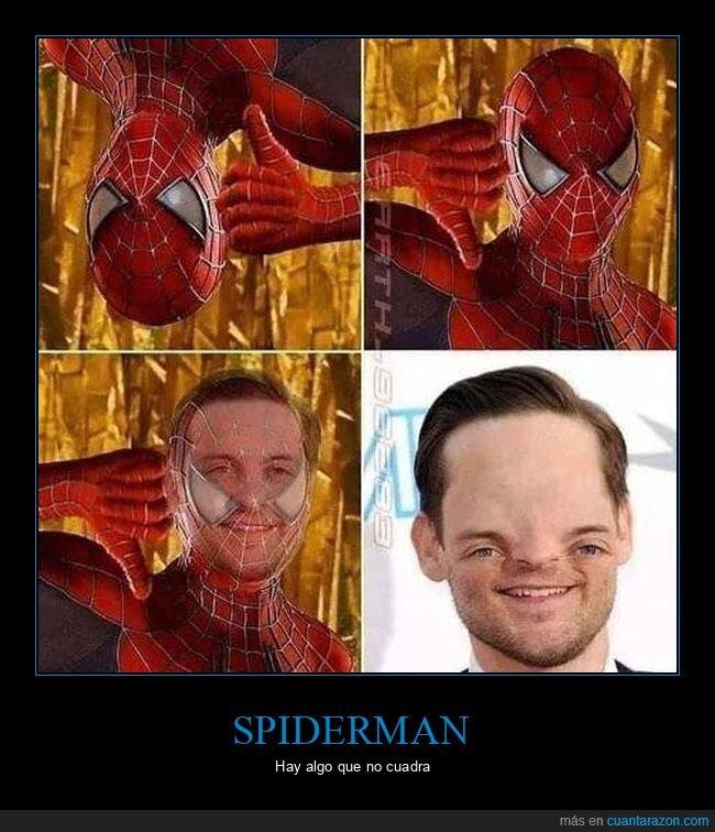 fails,ojos,spiderman