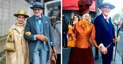 Enlace a Esta anciana pareja alemana causa sensación cada vez que sale a la calle