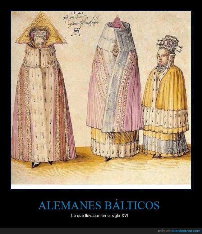 alemanes bálticos,moda,ropa,siglo xvi