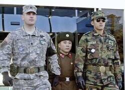 Enlace a Parece que en Corea del Norte no piden altura mínima para entrar en el ejército...