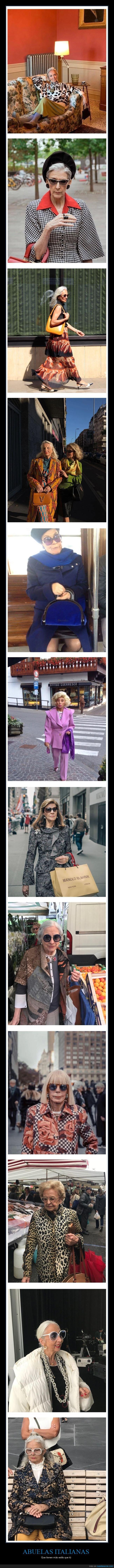 abuelas,estilo,italianas,moda