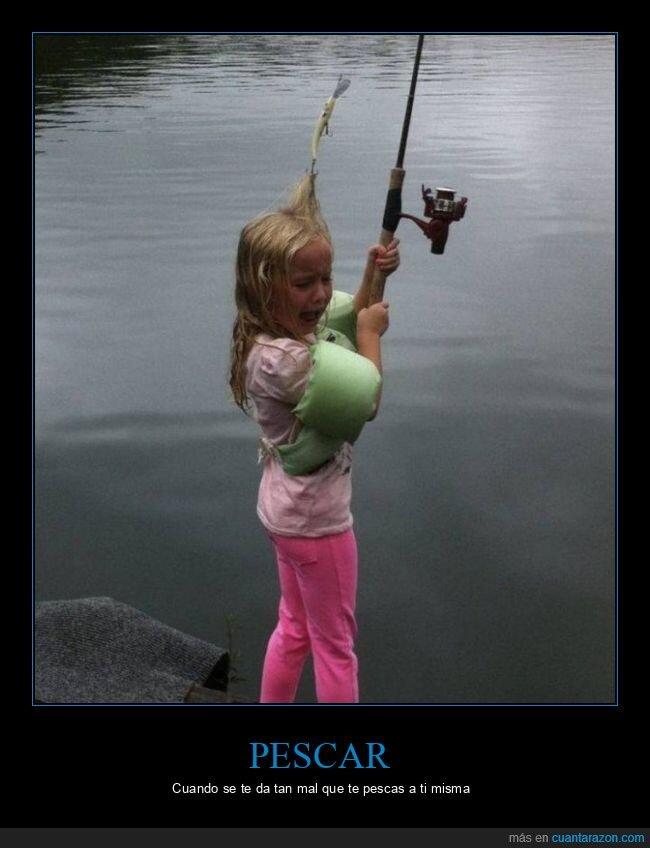 fails,niña,pescando
