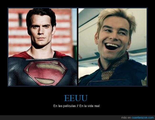 eeuu,películas,superman,the boys,vida real
