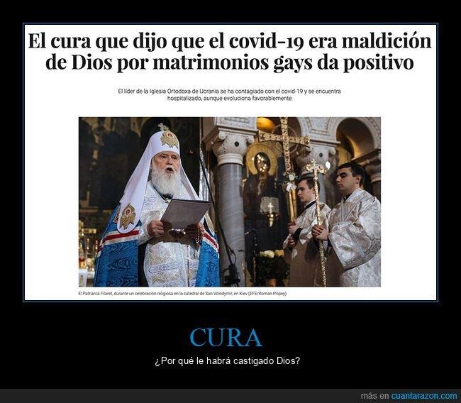 castigo,coronavirus,cura,gays,positivo